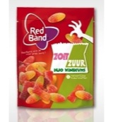 Red Band Duo Wine Gums Zoet Zuur (225g)