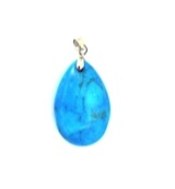 The drop of hanger howliet blauw