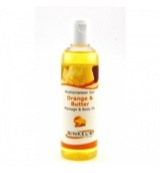 Massage & body oil orange & butter