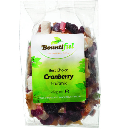 Cranberry fruitmix
