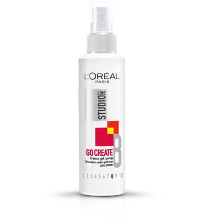 Loreal Paris Studio Line Go Create Gelspray Super Strong 150ml