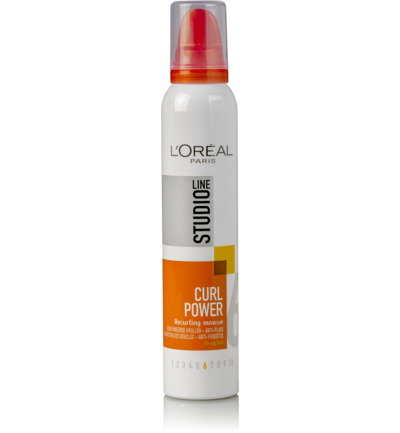 Studio line curls power mousse