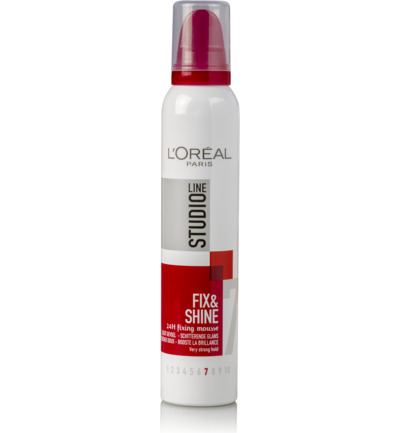 Loreal Paris Studio Line Mousse Fix and Shine Very Strong 200ml