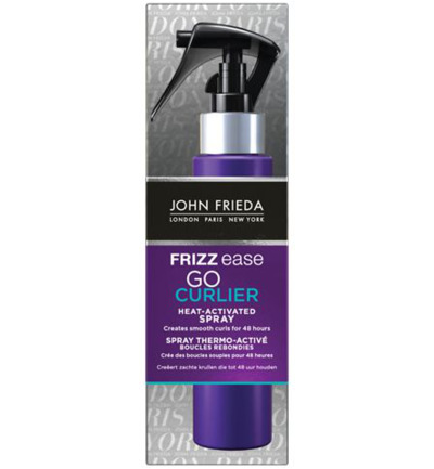 Frizz ease go curling spray