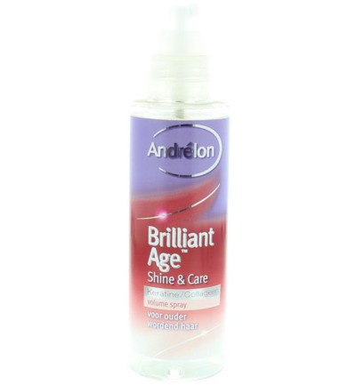Volumespray brilliant age shine & care