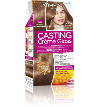 Casting creme gloss 723 Sweet caramel