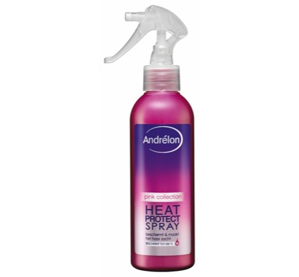 Heat protect spray pink