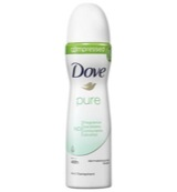 Deodorant spray compressed pure
