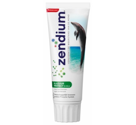 Zendium glazuur protect 5-12 jr.  - 75 ml - tandpasta