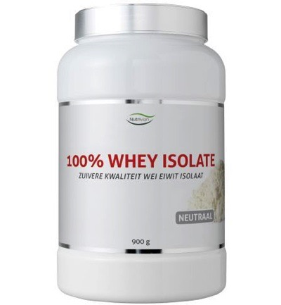 100% Whey isolate neutraal