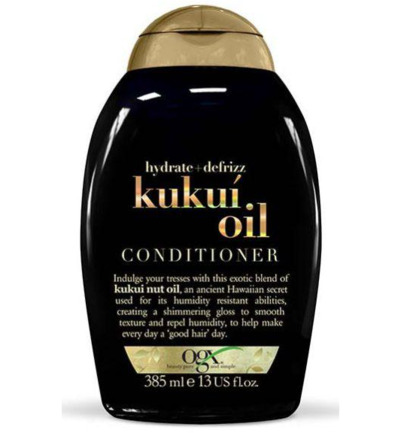 Hydrate & defrizz kukui oil conditioner
