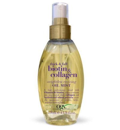 Biotin collagen weightless reviving oil mist
