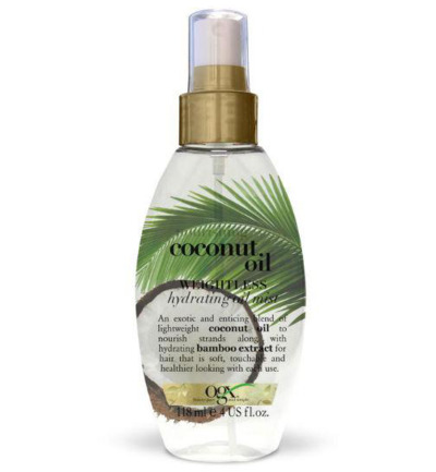 Nourishing oil weightless hydrating oil mist