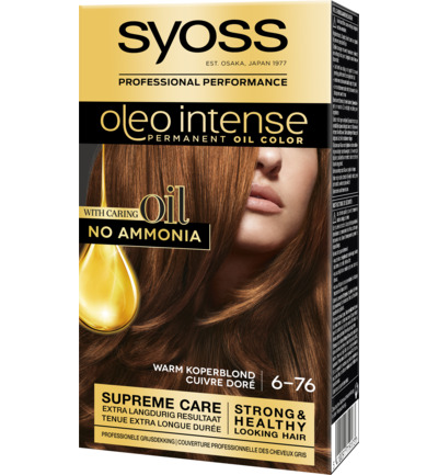 Color Oleo 6.76 warm koper blond