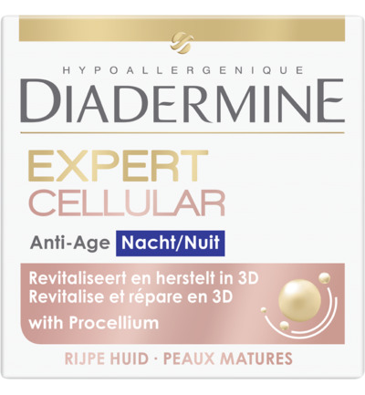 Expert Cellular 3D night nachtcreme