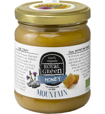 Royal Green Mountain Honey (berghoning) 250 gram