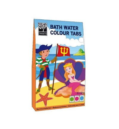 TREETS Bath water colour tabs 3ST