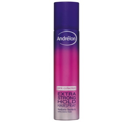 Pink Collection hairspray extra strong hold