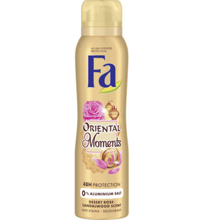 Deodorant spray oriental moments