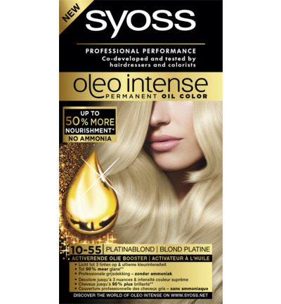 Color oleo 10.55 platina blond