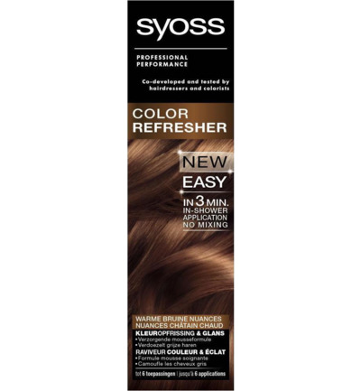 Color refresh warm brown