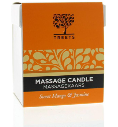 Massage candle sweet mango & jasmin