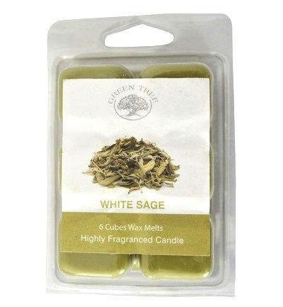 Wax melts witte salie