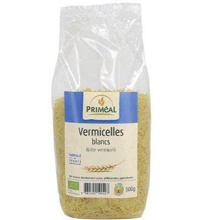 Witte vermicelli