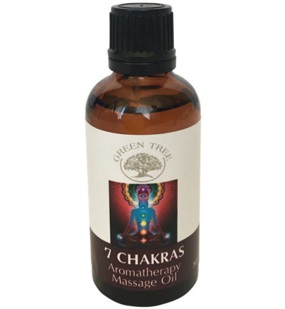 Massage olie 7 chakras