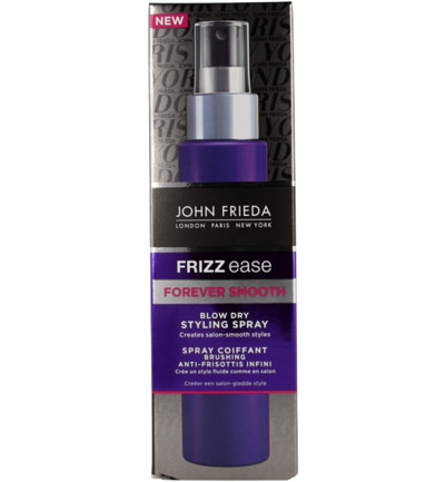 Frizz ease forever smooth blow dry styling spray