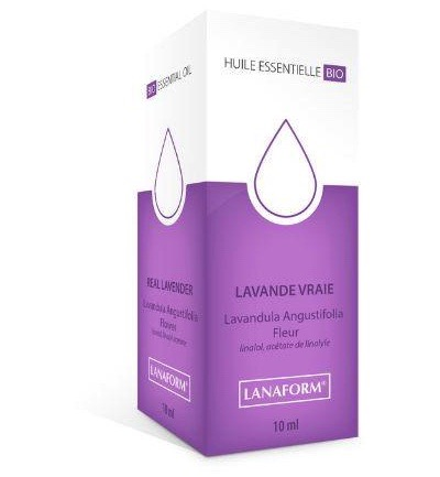Essential oil bio lavendel