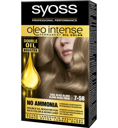 Color oleo intense 7.58 cool beige blond