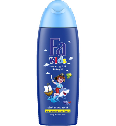 Showergel kids piraat