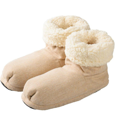 Slippies comfort maat 37 - 41 beige