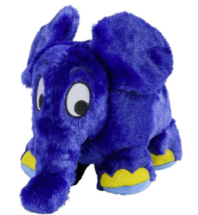 Warmies Olifant Blauw Vol@ ex