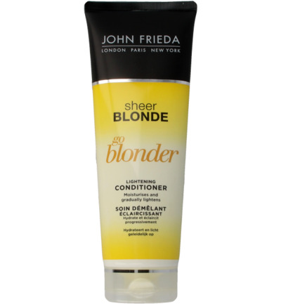 John Frieda Go Blonder Lightening Conditioner 250 ml