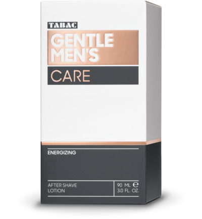 Gentle mens care aftershave energizing