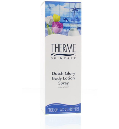 Dutch glory bodylotion spray