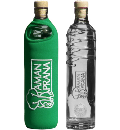 Eco respect drinkfles groen
