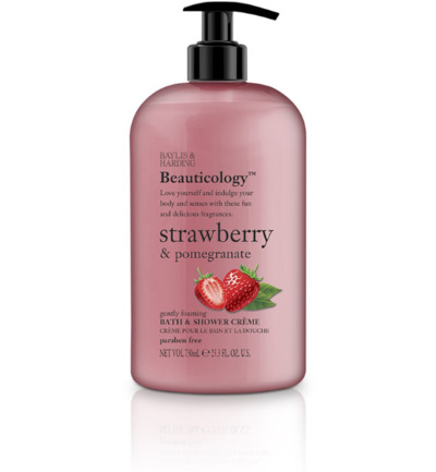 Beauticology bath & shower creme strawberry