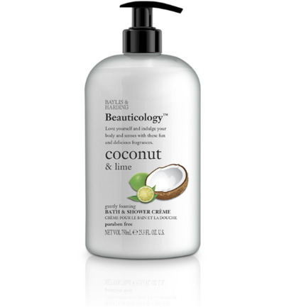 Beauticology bath & shower creme coconut