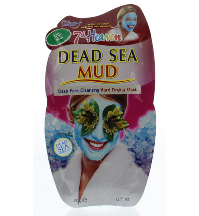 7th Heaven gezichtsmasker dead sea mud pac