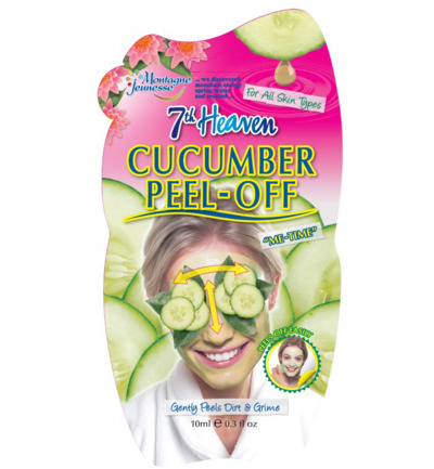 7th Heaven face mask cucumber peel-off