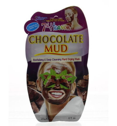 7th Heaven face mask chocolate mud