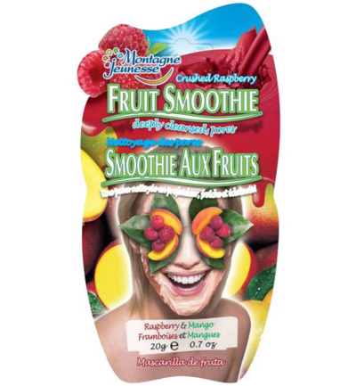 Gezichtsmasker fruit smoothie