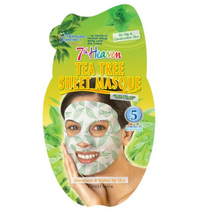 7th Heaven gezichtsmasker tea tree sheet