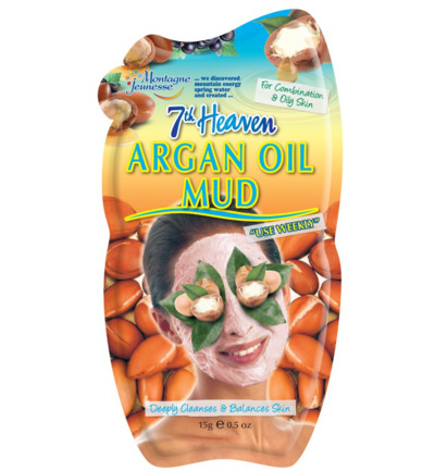 7th Heaven gezichtsmasker argan oil mud