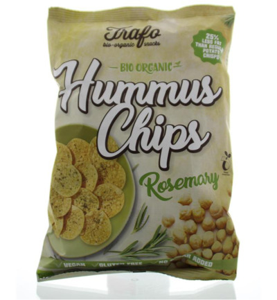 Hummus chips rosemary