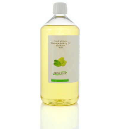 Massage & body oil eucalyptus & mint