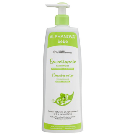 Baby cleansing water organic chamomile